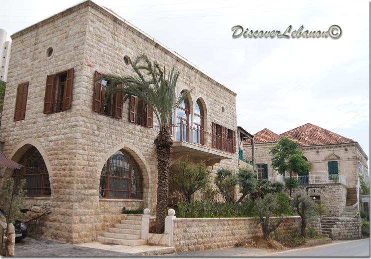 discover lebanon image gallery old houses old